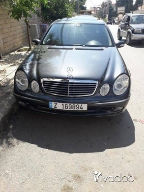 Mercedes-Benz in Beirut City - E500 model 2004