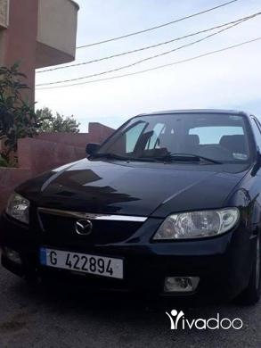 Mazda in Aldibbiyeh - Mazda 323f model 2002 in excellent condition