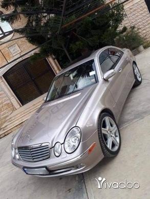 Mercedes-Benz in Deir Ammar - مرسادس بنز 211 بلورق 2004 انقاد