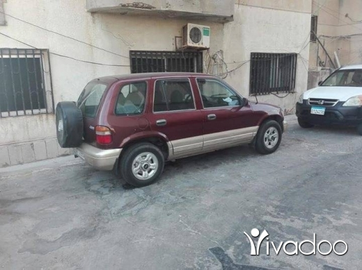 Kia in Beirut City - جيب كيا سورتاج 98