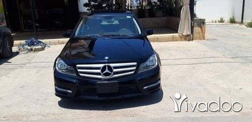 Mercedes-Benz in Tripoli - Mercedes Benz C250..2012