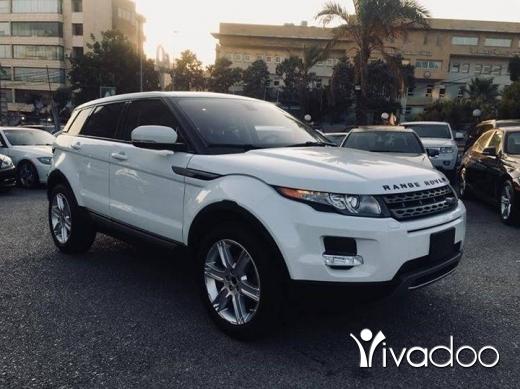 Land Rover dans Beyrouth - 2013 Range Rover Evoque prestige plus.