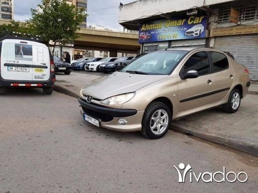 Peugeot in Tripoli - .Peugeot 206