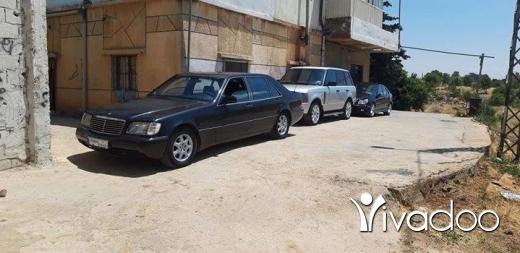 Mercedes-Benz in Bekka - شبح ٥٠٠ لون اسود وقلب اسود