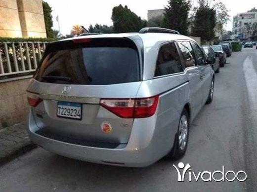 Honda in Tripoli - هوندا أوديسي ٢٠١٢
