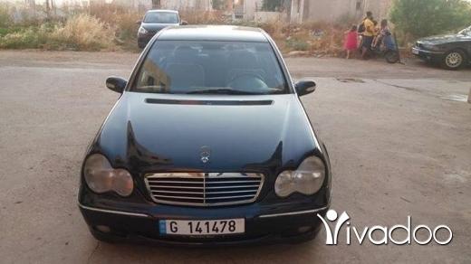Mercedes-Benz in Beirut City - c200 model 2001