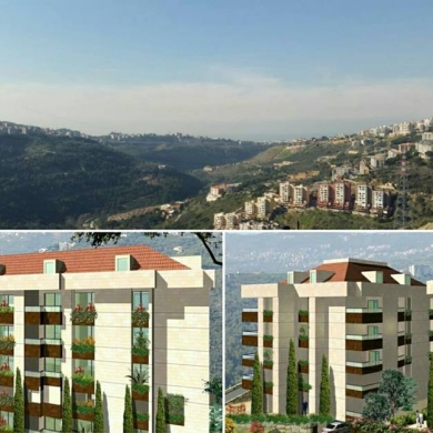 Apartments in Ain Saadeh - دوبلكس 330 م2 جديد مطلة على الجبل والبحر للبيع في المنتيفردي