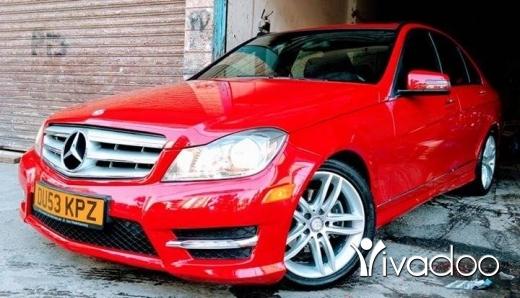 Mercedes-Benz in Beirut City - C250 mod 2013klm 50 alf ajnabeih ,electric chairs, red\black, harman kardon surround system, aux u