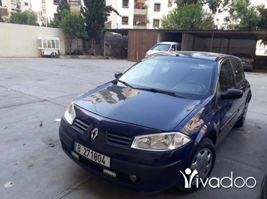 Renault in Tripoli - موديل ٢٠٠٥ فيتاس اتوماتيك مكيفة