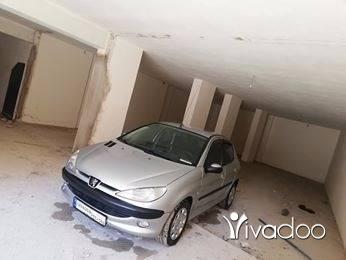 Peugeot in Tripoli - بيجو ٢٠٦ مودل 2005 انقاض