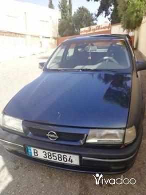 Opel in Tripoli - اوبل فيكترا موديل 1995