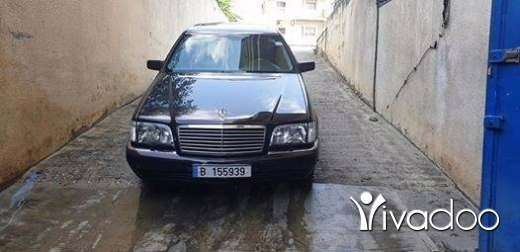 Mercedes-Benz in Menyeh - w140 S 500 1997