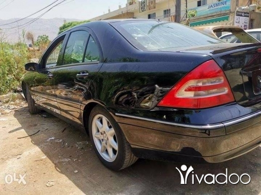Mercedes-Benz in Tripoli - Mercedes c 240 model 2003