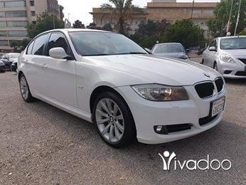 BMW in Beirut City - 2011 bmw e90 328i white on basket.