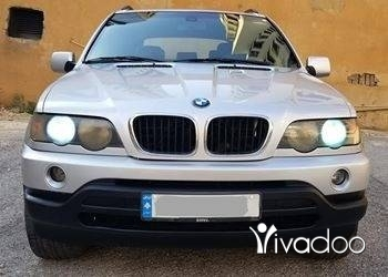 BMW in Beirut City - 2003 BMW X5 Full option Silver on Black, No Accidents perfect ConditionPrice:4900$ سعر نهائيPleas