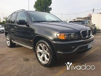 BMW in Port of Beirut -  2002 bmw x5 black new condition
