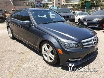 Mercedes-Benz in Beirut City -  mercedes C300 amg sport pkg. Grey on black.