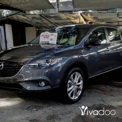 Mazda in Sin el-Fil - Cx9 grey 2013 grand Turing
