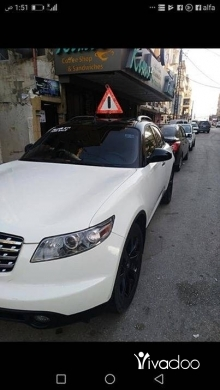 Infiniti in Tripoli - car