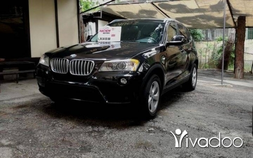 BMW in Sin el-Fil - X3 BLACK 2012 2.8L V6 premium package