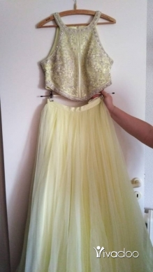 Bridesmaid Dresses in Achrafieh - haute couture (crop top + long skirt)