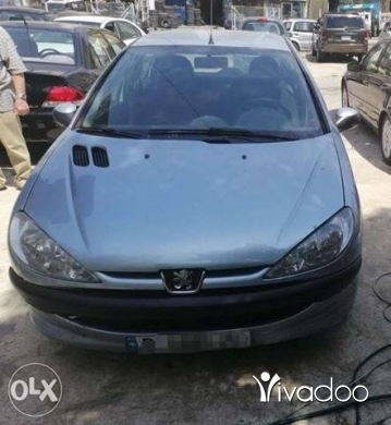 Peugeot in Beirut City - سيارة بيجو ٢٠٦ موديل ٢٠٠٥ قابلة للبدل