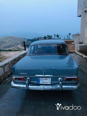 Mercedes-Benz in Beirut City - Oldies Mercedes E200 Model 1966 Collection Antique