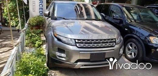 Rover in Tripoli - Range Rover Evoque 2012