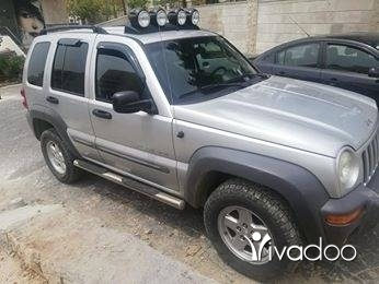 Jeep in Kfar Harra - Jeep liberty 2003