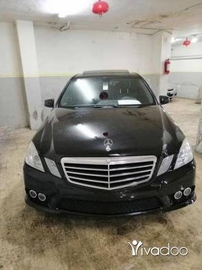 Mercedes-Benz in Beirut City - E350 MODEL 2010 CLEAN CAR FAX اسود اسود سياره كثير كثير نظيفه بالورقه السعر نهائي