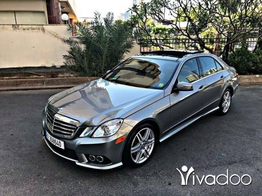 Mercedes-Benz in Beirut City - E350 AMG Sport Package 2010 Luxury