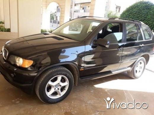 BMW in Zahleh - X5 model 2002 aswad aswad بسعر مغري لللتواصل على 71907399