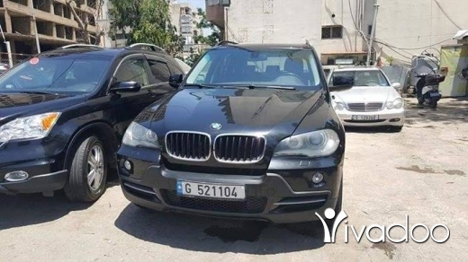 BMW in Beirut City - x5 2007 black full