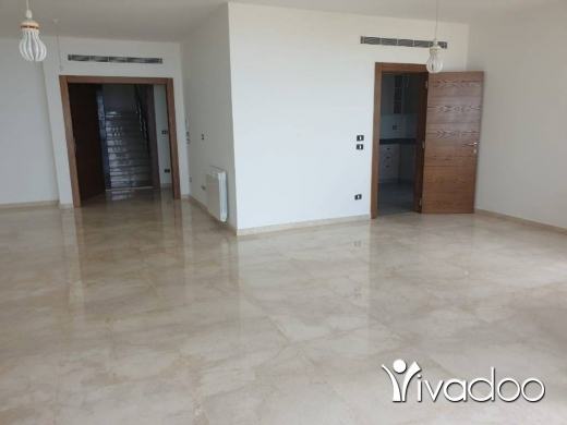 Apartments in Mtaileb -  A 230 m2 apartment having an open sea view for rent in Mtayleb
