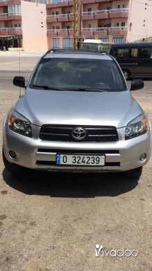 Toyota in Tripoli - للبيع جيب تويوتا رافور موديل 2008 sport دفتر 2019