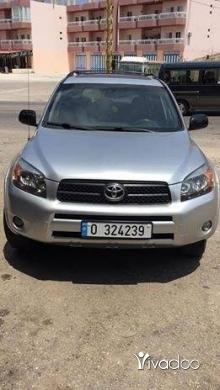 Toyota in Tripoli - للبيع جيب تويوتا رافور موديل 2008. Sport .دفتر 2019