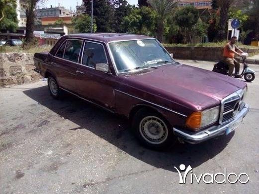 Mercedes-Benz in Tripoli - مرسيدس 280 صندوق لف