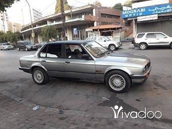 BMW in Tripoli - بطه موديل ٨٧ ميكانيك نضيف من كل شي