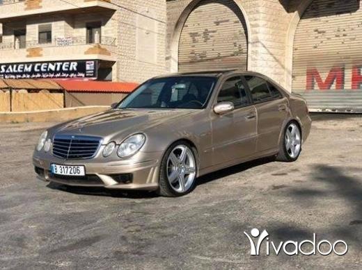 Mercedes-Benz in Zahleh - Mercedes-Benz E500