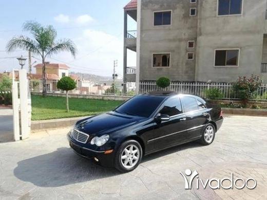 Mercedes-Benz in Nabatyeh - mercedes C.240 model 2001 boyet cherki aswad alb aswad enkaz sayara top contact 03237206