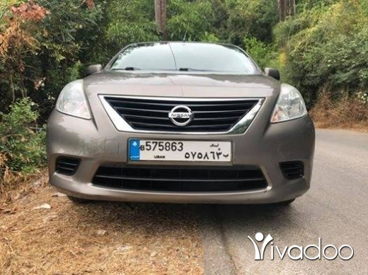 Nissan in Beirut City - Nissan sunny 2015