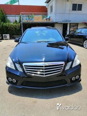 Mercedes-Benz in Beirut City - E350 MODEL 2010 CLEAN CAR FAX LOOK AMG BLACK BLACK FINAL PRICE