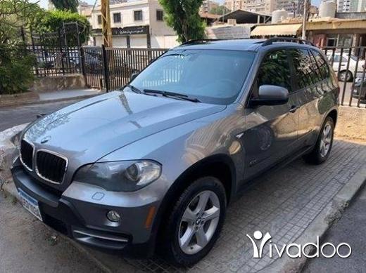 BMW in Beirut City - BMW x5 2007 من دون حوادث سوبر نضيفي سبع ركاب سنسر دوليب جداد