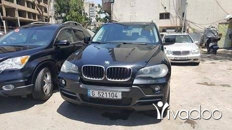 BMW in Beirut City - x5 2007 full black