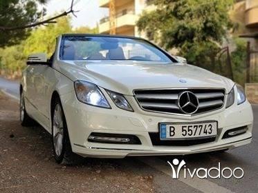 Mercedes-Benz in Port of Beirut - E200 Cabrio