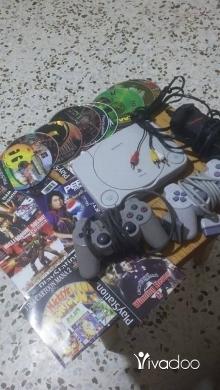 PS2 (Sony PlayStation 2) in Saida - بلاي ستايشن مع كل الالعاب