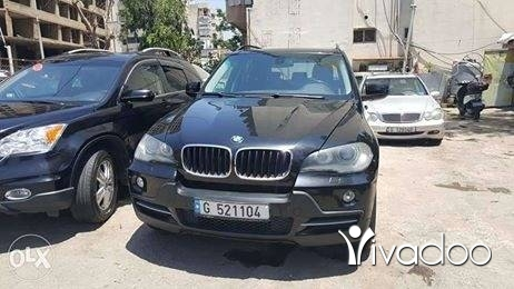 BMW in Beirut City - x5 2007 black full options