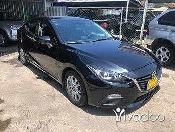 مازدا في ضبيه - Mazda 3 2014 black on black navi rear cam full option