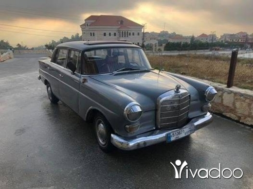 Mercedes-Benz in Beirut City - Classic Mercedes E200 Model 1966 Collection Car