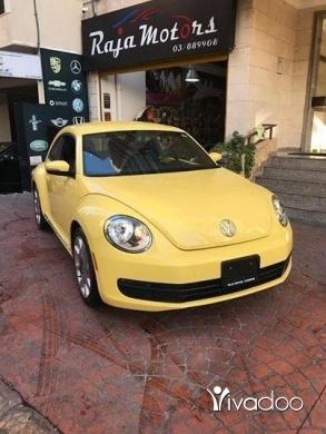 Mercedes-Benz in Beirut City - Volkswagen Beetle 2012